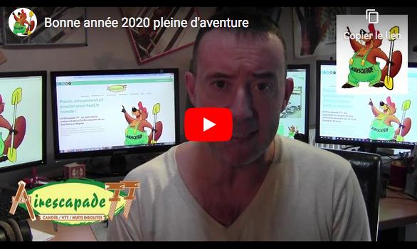 Bonne année 2020 avec Airescapade